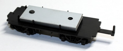Tender Chassis w/Wheels (HO 0-6-0/2-6-0/2-6-2 S.T.)